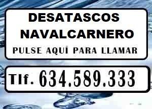 Desatascos Navalcarnero Urgentes