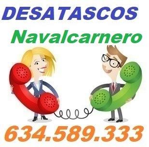 Telefono de la empresa desatascos Navalcarnero